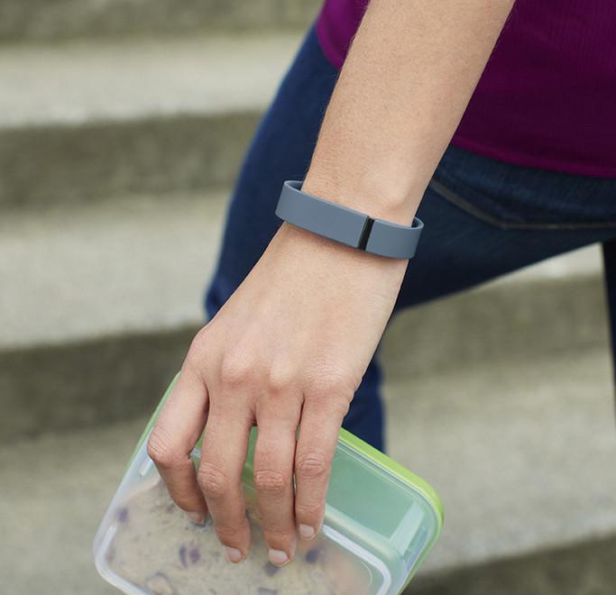 En Fitbit Flex på håndled