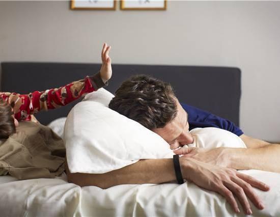 Du sover, men fitbit flex gør ikke