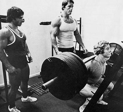 Styrketræning med øvelsen Squat