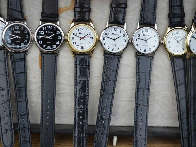 Et armbåndsur er den perfekte gave